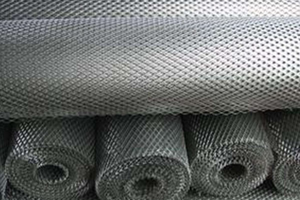 Micro Expanded Mesh in Aluminum